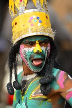 IND7193AW Braj Mahotsau festival, Bharatpur, Rajasthan, India, asia