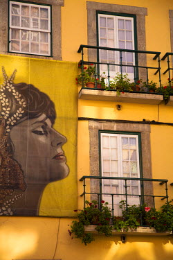 POR7198 House of Amalia Rodrigues, one of the best singers of Fado. Lisbon, Portugal, Europe.