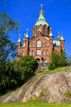 HMS0450760 Finland, Helsinki, the Uspensky Orthodox Church