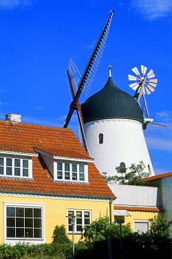 HMS0470159 Denmark, Bornholm Island, Gudhjem village