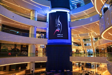 KW01145 Kuwait, Kuwait City, Al Hamra Tower, a Business and luxury shopping center