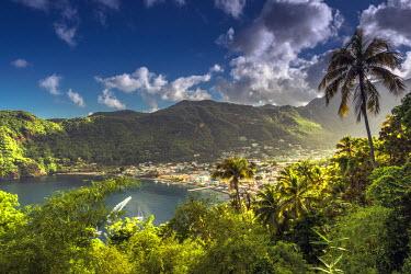 ST01106 Caribbean, St Lucia, Soufriere, Soufriere Bay