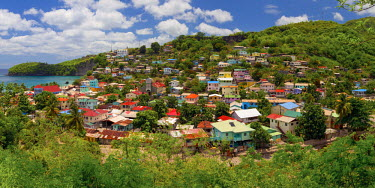 ST01107 Caribbean, St Lucia, Canaries