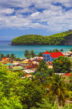 ST01110 Caribbean, St Lucia, Canaries
