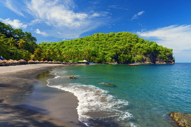 ST01111 Caribbean, St Lucia, Soufriere, Anse Chastanet, Anse Chastanet Beach