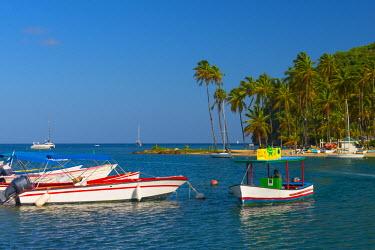 ST01122 Caribbean, St Lucia, Marigot, Marigot Bay