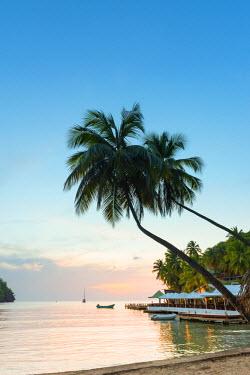 ST01131 Caribbean, St Lucia, Marigot, Marigot Bay, Marigot Bay Beach Club Hotel, Doolittle's Restaurant