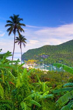 ST01141 Caribbean, St Lucia, Marigot, Marigot Bay
