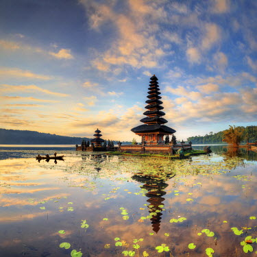 ID01502 Indonesia, Bali, Bedugul, Pura Ulun Danau Bratan Temple on Lake Bratan
