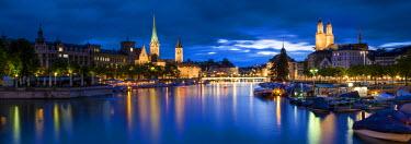 CH03574 River Limmat, Zurich, Switzerland