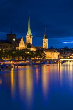 CH03575 River Limmat, Zurich, Switzerland