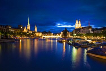CH03577 River Limmat, Zurich, Switzerland
