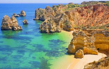 POR7208AW Praia do Camilo, Lagos, Western Algarve, Algarve, Portugal, Europe