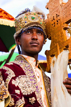 AF16MZW0476 Meskel ceremony in Lalibela, Ethiopia