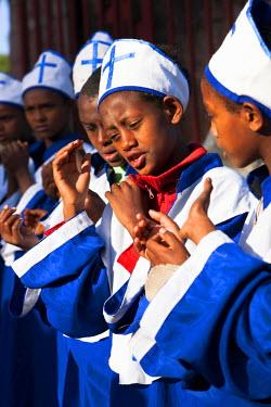 AF16MZW0493 Meskel ceremony in Lalibela, Ethiopia