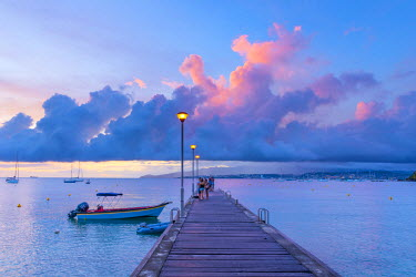 FW03051 Caribbean, Martinique, Pointe du Bout, Anse Mitan