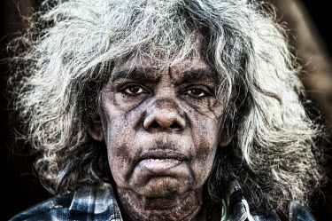 "AR4843300015 ""Minvinett"" Kathleen Parry, an aboriginal elder who may move nack onto Fish River as part of a resettlement agrement."