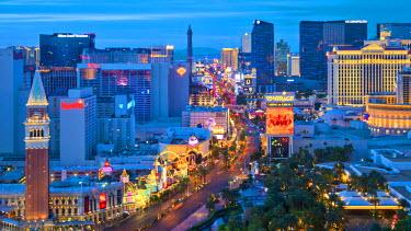 US31269 USA, Nevada, Las Vegas, The Strip