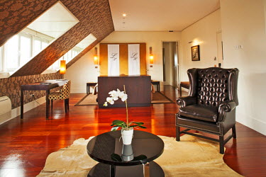 POR7367AW Europe, Portugal, Lisbon, a Suite in the Heritage Avenida Liberdade boutique hotel PR