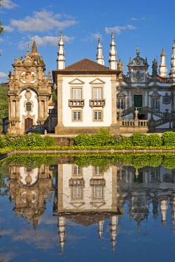 POR7372AW Europe, Portugal, Vila Real, the 18th Century baroque palace and arts foundation (Fundacao da Casa de Mateus) built in the first half of the 18th Century by Antonio Jose Botelho Mourao (1688-1746), 3r...