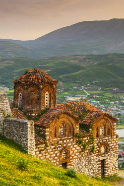 AL01095 Albania, Berat, Kala Citadel, Church of the Holy Trinity