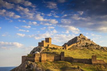 UA02111 Ukraine, Crimea, Sudak, Genoese fortress