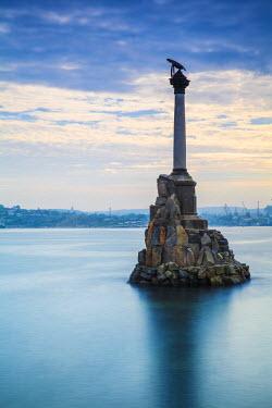 UA02241 Ukraine, Crimea, Sevastopol, Eagle Column - Monument to the Scuttled Ships