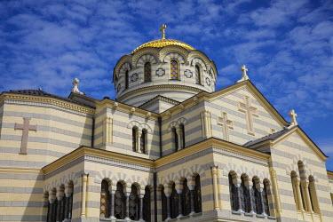UA02243 Ukraine, Crimea, Sevastopol, Khersoness, St Vladimir's Cathedral