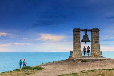 UA02245 Ukraine, Crimea, Sevastopol, Khersoness, Fog bell - which comes from a Crimean War cannon.