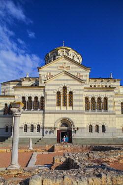 UA02251 Ukraine, Crimea, Sevastopol, Khersoness, St Vladimir's Cathedral