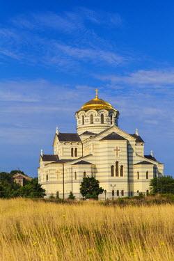 UA02254 Ukraine, Crimea, Sevastopol, Khersoness, St Vladimir's Cathedral