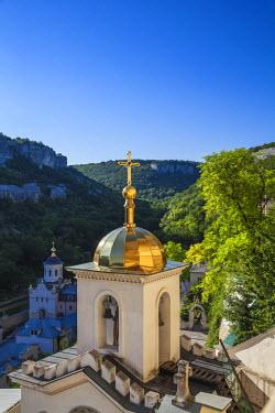 UA02265 Ukraine, Crimea, Backchisaray, Part of the Upensky Monastery complex -  also know as Dormition Monastery