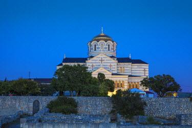 UA02273 Ukraine, Crimea, Sevastopol, Khersoness, St Vladimir's Cathedral