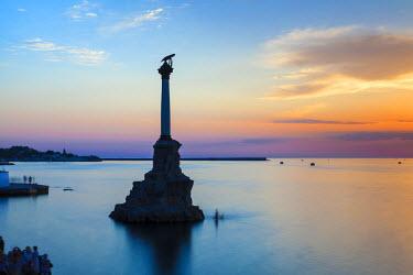 UA02280 Ukraine, Crimea, Sevastopol, Eagle Column - Monument to the Scuttled Ships