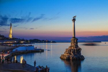 UA02282 Ukraine, Crimea, Sevastopol, Eagle Column - Monument to the Scuttled Ships