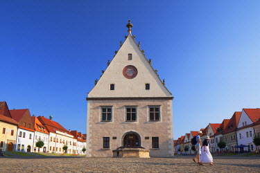 SLV1221AW Saris Museum in Radnicne Square, Bardejov (UNESCO World Heritage Site), Presov Region, Slovakia