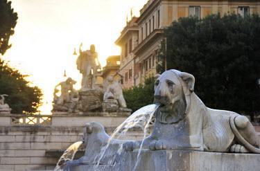 ITA2464AW Piazza del Popolo. Rome, Italy