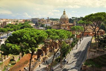 ITA2447AW Roman Forum. Rome, Italy