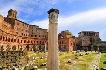 ITA2434AW Trajan's Markets, a Unesco World Heritage Site, near the Roman Forum,. Rome, Italy
