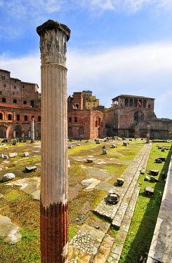 ITA2433AW Trajan's Markets, a Unesco World Heritage Site, near the Roman Forum,. Rome, Italy