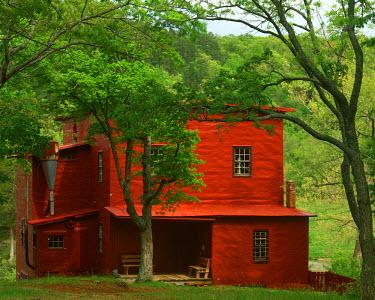 US26CGU0260 USA, Missouri, Dillar Mill State Park, Dillard Mill