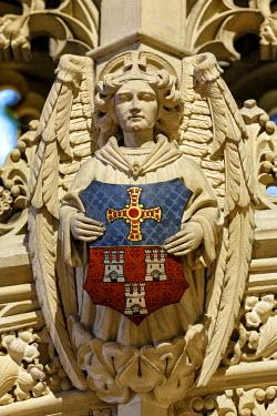ENG11174AW Europe, United Kingdom, England, Tyne and Wear, Newcastle, St Nicholas Cathedral