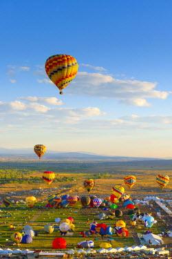 US24186 USA, New Mexico, Albuquerque, Albuquerque International Balloon Fiesta