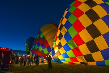 US24193 USA, New Mexico, Albuquerque, Albuquerque International Balloon Fiesta