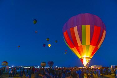 US24194 USA, New Mexico, Albuquerque, Albuquerque International Balloon Fiesta