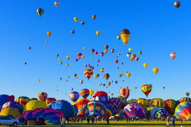 US24200 USA, New Mexico, Albuquerque, Albuquerque International Balloon Fiesta