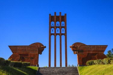 AM01126 Armenia, near Armavir, Sardarapat War memorial