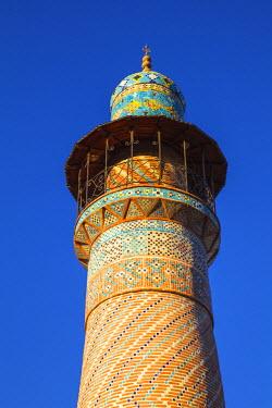 AM01134 Armenia, Yerevan, Minaret of the Blue Mosque