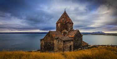 AM01212 Armenia, Lake Seven, Sevanavank monastery