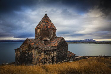 AM01213 Armenia, Lake Seven, Sevanavank monastery